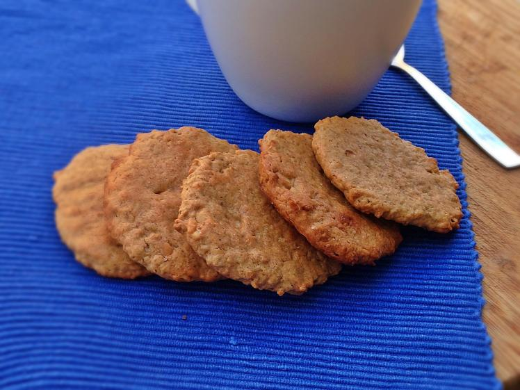 Galletas de mantequilla de cacahuete y avena 3