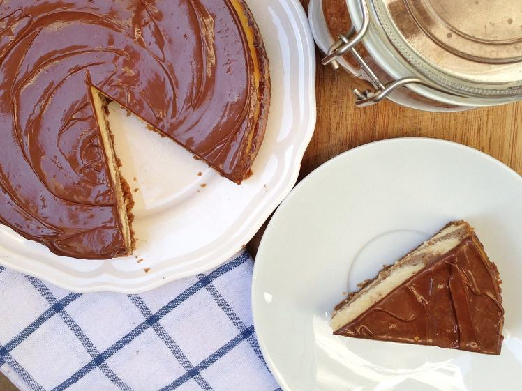 Tarta de queso y Nocilla (Nutella cheesecake) 5