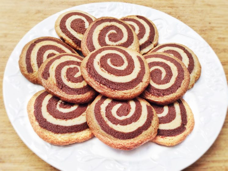 Galletas de mantequilla y chocolate 5