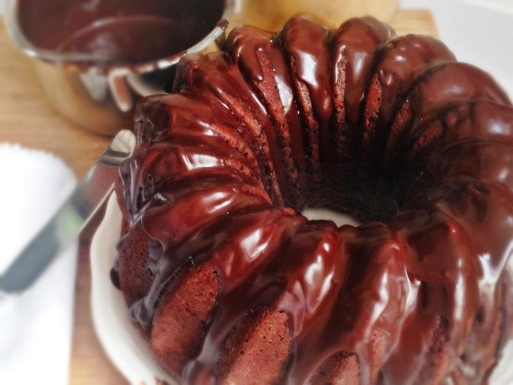 Bundt de chocolate negro (sin lactosa) -2